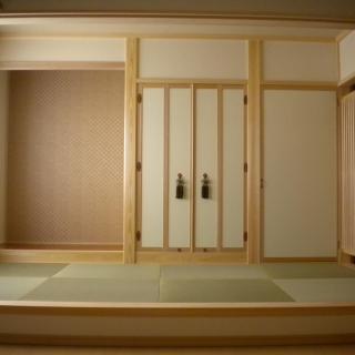 桧&ウールブレス  小上がりの和室がある家