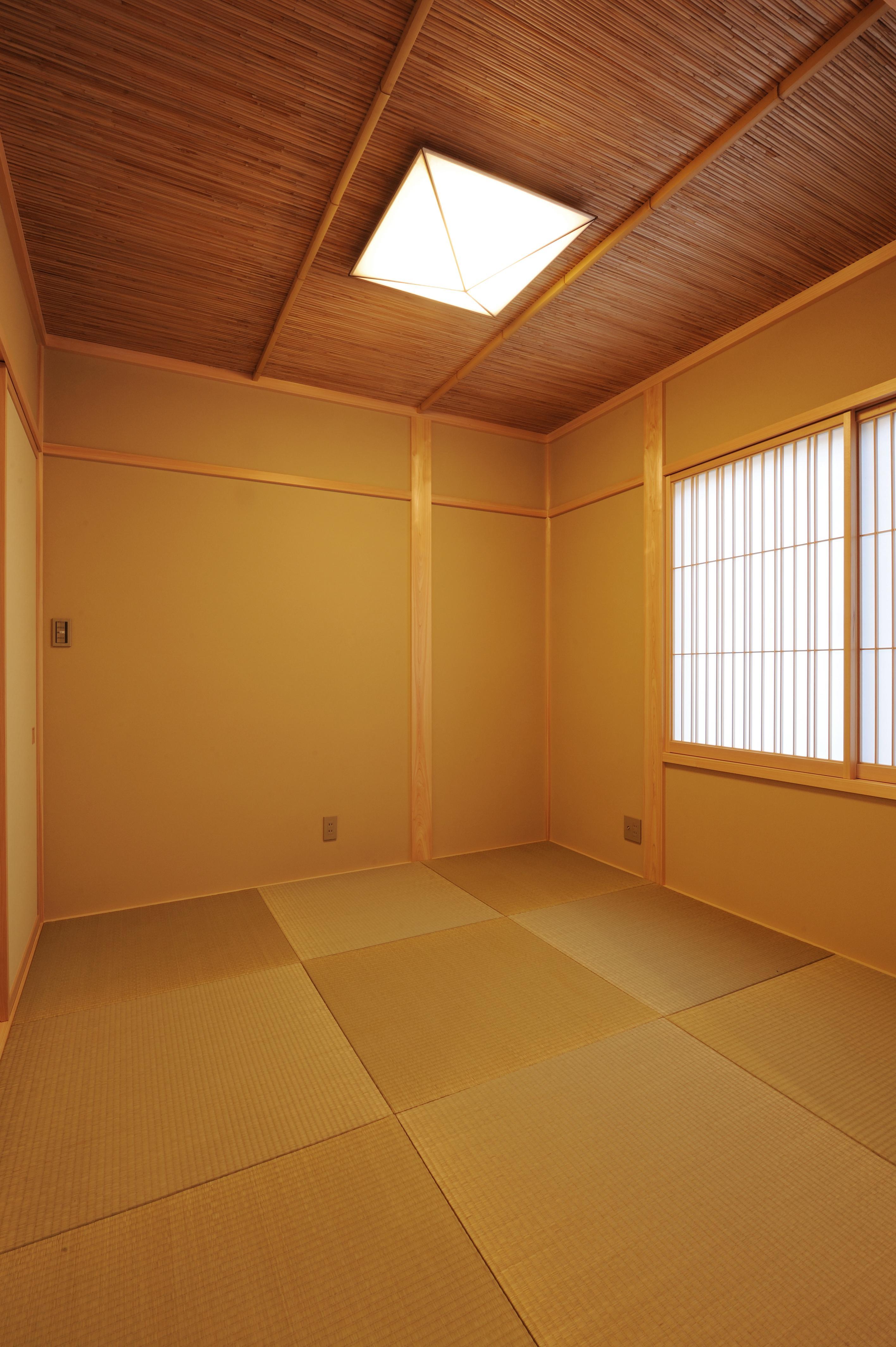 よしず&竹押えと天井にもコダワリが