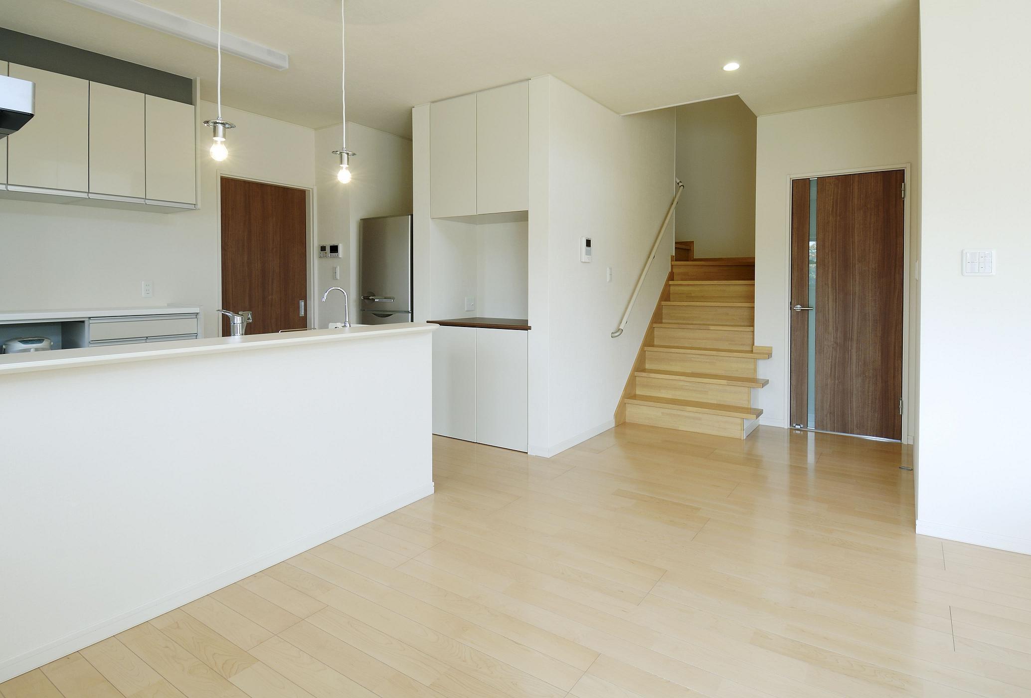 機能とデザインを融合させたキッチンスペース